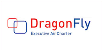 DragonFly Executive Air Charter logo