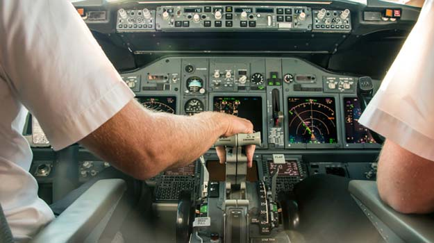 The front line of a pilot shortage
